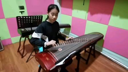古筝独奏《上海滩》园林艺术培训中心陈诗燕