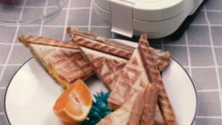 给闺蜜的爱心早餐,减脂三明治,营养健康!