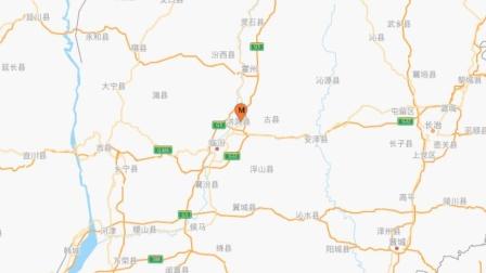 山西临汾市洪洞县发生3.1级地震