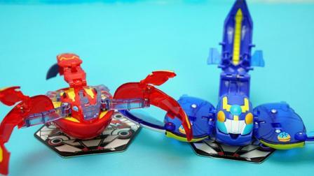 玩具大联萌 爆兽猎人玩具拆装 神奇魔鱼VS巨螯龙虾