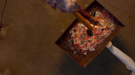 中国厨师徒手切牛肉,日料大师开眼了!