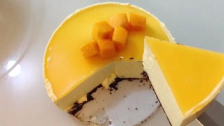 不用烤箱,在家就能做慕斯蛋糕,口感细腻顺滑,香甜可口太好吃了
