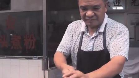 广东梅州特色美食,鱼头煮粉家常做法