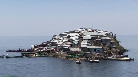非洲最拥挤小岛,面积仅足球场的三分之一,上千人挤在这里定居