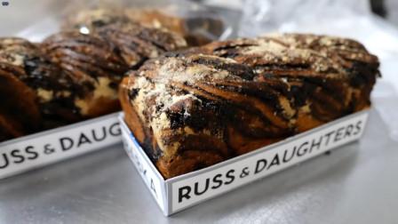 街头美食 巧克力面包
