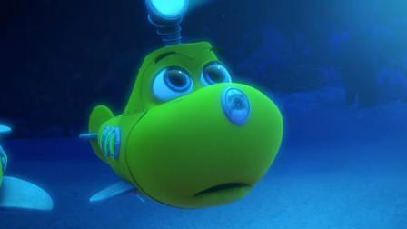 潜艇总动员:阿力一睁眼,发现是火龙号救了自己,他很是开心