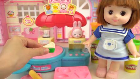洋娃娃多利,甜品制作,抹茶西瓜蛋糕,还有好看又有趣的动物饼干