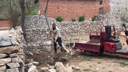 农村原本破败不堪的小院,经过73天的努力,彻底的脱胎换骨