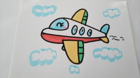 交通工具简笔画.飞机