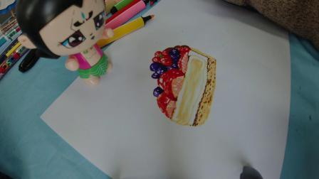 你喜欢吃水果蛋糕吗