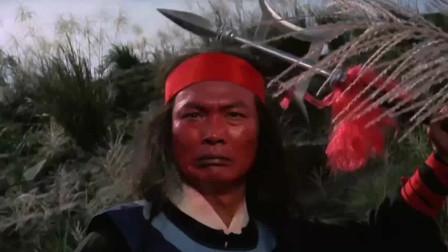 天地3煞绝命4鬼抢宝剑,姑娘灵机一动,不走大路用轻功在树上飞