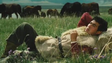 20多岁的牧马人朱时茂,风吹草低见牛羊
