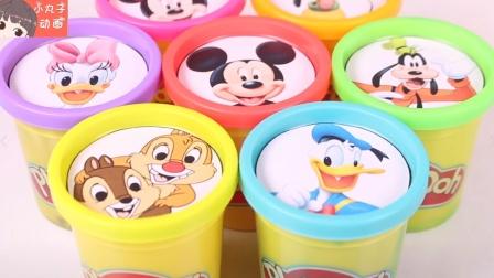 迪士尼卡通奇趣蛋 恐龙赛车米老鼠唐老鸭