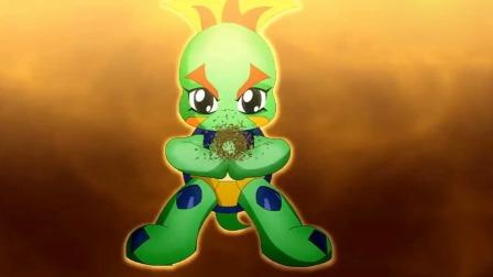 晶码战士05:初级绝招合集,是我独角兽不配了