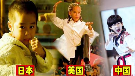"""这三个国家的""""功夫小子""""谁最厉害?中国林秋楠的跆拳道太猛了"""