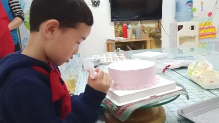 第一次自己做生日蛋糕
