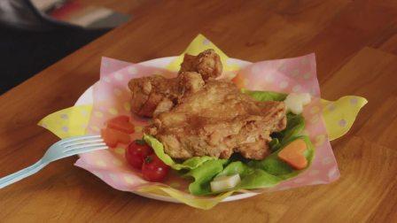 明天也有好吃的饭:新认识的女孩给男孩做了炸鸡