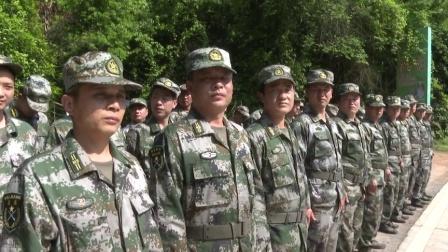 县人民武装部组织开展民兵军事训练