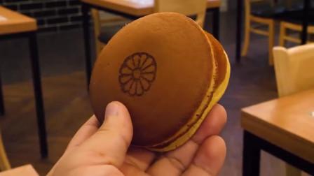 哆啦A梦喜欢吃的#铜锣烧 还有饺子形状的,太可爱了吧!