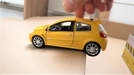 迷你小汽车轿车模型玩具展示