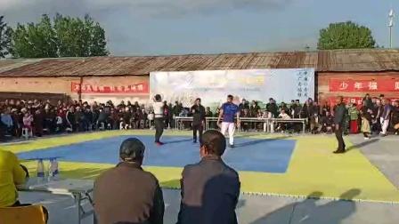 河北省廊坊市大厂回族自治县夏垫镇(金牛杯)摔跤决赛!