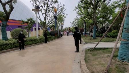 南京欢乐谷花车巡游