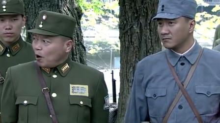 孤军英雄:国军团长吹嘘自己兵,新四军故意朝天开枪,下秒笑人