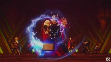 第08章|阿斯加德|最低难度-复仇者联盟3黑暗教团UltimateAlliance3:TheBlackOrder【MANE】