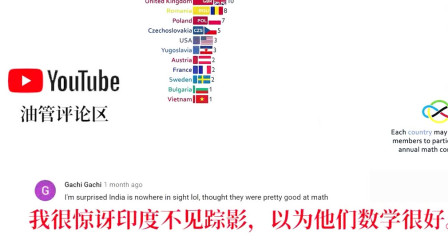 老外看国际数学奥林匹克金牌前20,老外:美国队教练是中国人