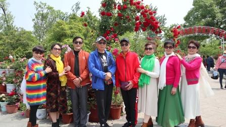 2021.5.4日相约徐州植物园月季科普展