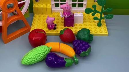多吃蔬菜水果,身体棒棒