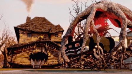 小镇上的怪兽屋,谁靠近它,都会被吃掉-下