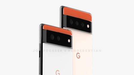 谷歌Pixel 6系列新机渲染图曝光,撞色拼接设计!