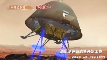 """3D动画演示!""""天问一号""""在火星软着陆全过程"""