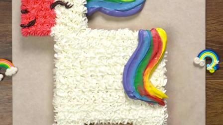 美好彩虹小马式蛋糕