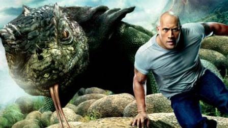 《地心历险记第二部-中》:男子来到神秘岛,神奇的生物看花眼