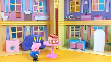 是谁偷吃了佩奇的生日蛋糕?
