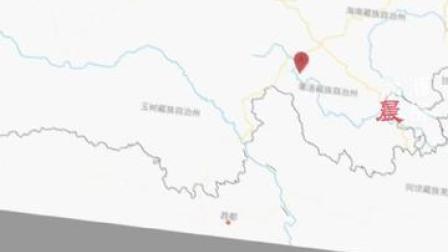 中国地震台网正式测定:05月22日02时04分在青海果洛州玛多县,发生7.4级地震,震源深度17千米