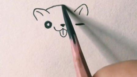 萌萌哒小仓鼠,画的越圆越可爱