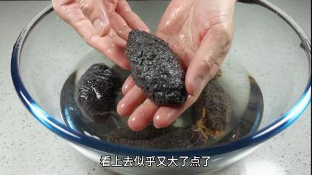 海参泡发的方法,其实很简单,关键泡,煮,泡的步骤,详细记录!