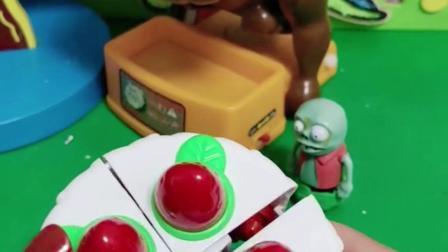 乔治帮小鬼把蛋糕变成小机器人