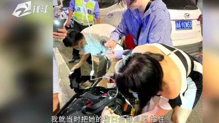 路遇车祸出手相助,省人民医院两位护士来了一次漂亮的配合