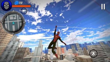 走走云玩游戏 第一季 超凡蜘蛛侠,解救人质,打败精英蜥蜴怪