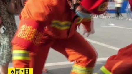 #湖北襄阳  #2021高考考生掉进下水道,#消防员及时帮助捞出证件 #护航高考