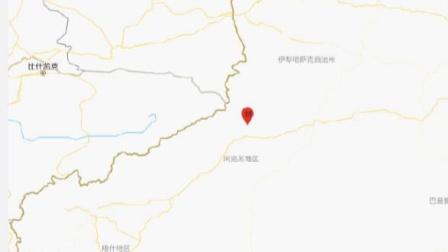 阿克苏地区温宿县发生3.0级地震,震源深度10千米