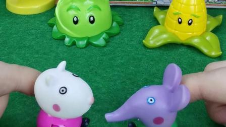 少儿玩具:大象看动画片跟父亲妈妈吵架哭了