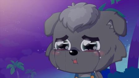 小灰灰一直在等灰太狼回来!哭的好可怜