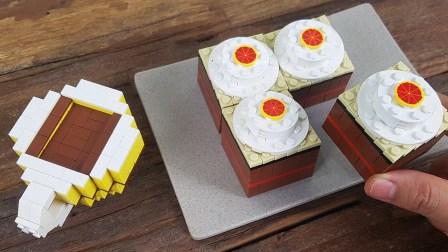 积木食玩大世界 口感丰富的巧克力蛋糕