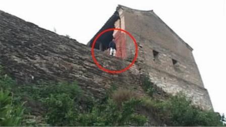 """中国表演""""祖传轻功"""",当场从15米高空跳下,画面一度失控!"""