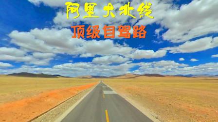 顶级高原自驾路,驰骋阿里大北线,蓝天白云壮阔无垠